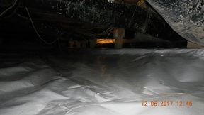 Maxwell finished crawl space 007