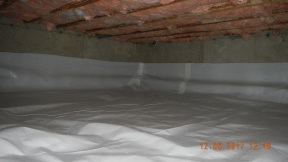 Maxwell finished crawl space 012