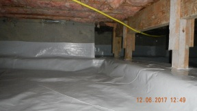 Maxwell finished crawl space 013