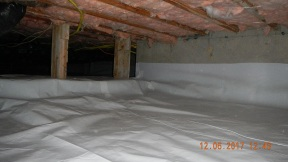 Maxwell finished crawl space 014