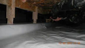 Maxwell finished crawl space 015