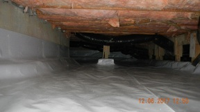 Maxwell finished crawl space 016
