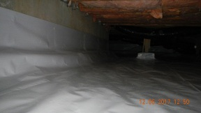 Maxwell finished crawl space 017