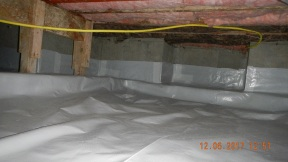 Maxwell finished crawl space 019